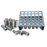 JET 650016, Premium Collet Set 35 PC 5 C with Rack 32ND