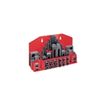 "JET 660012, Clamping Kit 52-pc with Tray CK-12 for 9/16"" and 5"
