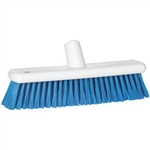 Vikan 7045, Vikan Resin Set Broom - Soft The bristles are resin set and secured without stainless steel staples.
