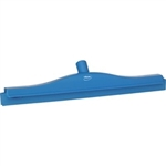 "Vikan 7713, Vikan Double Blade Ultra Hygiene Squeegee 20"" The double-blade non-porous rubber design of this squeegee is effective in removing water from all types of floors; tiles, epoxy, cement."