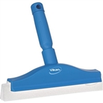 "Vikan 7751, Vikan 10"" Fixed Head Bench Squeegee This double blade bench squeegee provides effective removal of both water and food debris from food preparation surfaces."