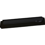 "Vikan 7771, Vikan 10"" Black Refill Cassette Replacement cassette with neoprene rubber squeegee blades for bench squeegee model 7751."