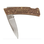 Proto J18510, Proto - Commemorative Lockback Knife
