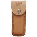 Proto J95218, Proto - Leather Folding Knife Blade Sheath
