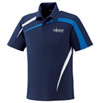 Trident TRI-PCBP, Trident Performance Color Block Polo