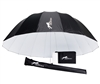 "CheetahStand 86"" White Deep Umbrella with Diffuser"