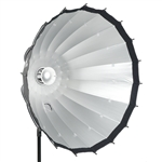 "Cheetah 48"" Easy-Open Deep Parabolic Beauty Dish"