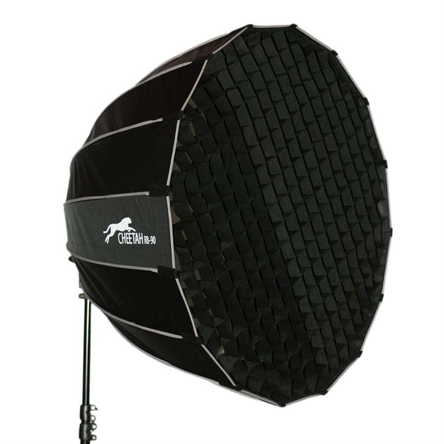 """Alien Bees For Sale: CheetahStand 48"""" RiceBowl RB-120 Deep Parabolic Softbox"""