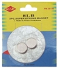 "2pc 1/2"" Dia. 8lb Neodymium Disc Magnets"