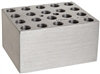 Drybath Block holds 20 x 10mm vials or 20 x 0.2mL vials