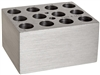 Drybath Block holds 12x15/16mm vials or 12 10ml vials