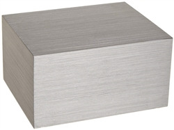 Drybath Block- Solid for Microscope Slides or Machining