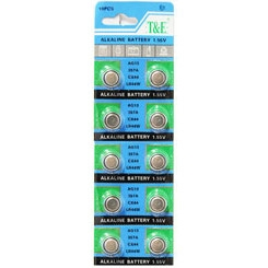 10 pack AG13 Batteries