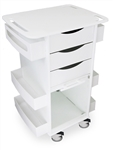 "TrippNT Polyethylene Medical Cart 23 x 35 x 19"" WHD"
