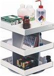 "360 Degree Rotating Lab Shelf 12"" x 15"" x 12"""