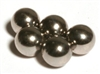 "Set of 5  1/2"" Diameter Chrome Steel Bearings Balls"