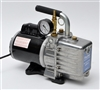 "High Vacuum Pump With 0-30"" Hg Gauge - 3CFM LAV-3/G"