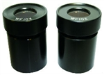 Pair of 10xWF Eyepieces for Walter QZS/QZT Stereo Microscopes