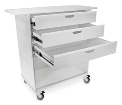 Extra-Wide Lab Cart 36""