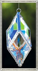 "Small 4"" Diamond Water Prism"