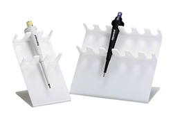 6 Slot White Pipettor Caddy