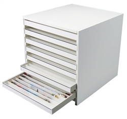 108 Compartments HPLC Column Storage Cabinet