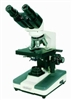Professional Binocular Microscope with 4 Objectives & Mechanical Stage