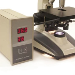 Microscope Stage Warmer