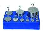 Stainless Steel  Hooked Weight Set - 9 weights 5g to 500g