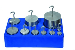Stainless Hook Weight Set - 10 weights 5g to 1000g