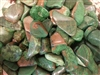 "Green Picture Jasper  -1 "" Tumbled"
