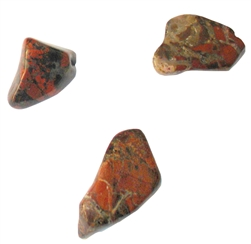 "Brecciated Jasper - 3/4""  Tumbled"