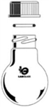 25ml Round Bottom Flask 14/10 1 Neck