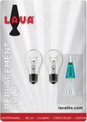 "15W Bulbs for 10.5"" Lava Lamp"