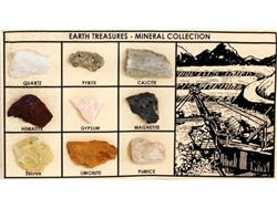 Earth Treasures Mineral Collection