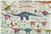Sauropods Poster - Laminated