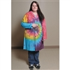 Tie-Dye Lab Coat - Small