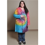 Tie-Dye Lab Coat Extra-Large