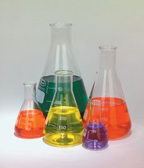250ml Erlenmeyer Flask - Pack of 6 Flasks