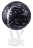 "Mova 4-1/2"" Solar Spinning Constellation Globe"