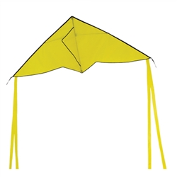 "Yellow Colorfly Delta Kite 56"" x 22"""
