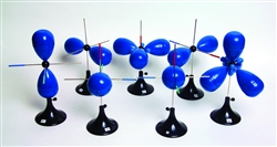 Set of Seven Molecular Orbit Models