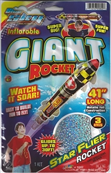Inflatable Giant Rocket 41 inches long