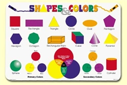 Shapes and Colors Placemat