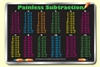 Subtraction Tables Placemat