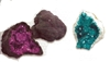 Enhanced Color Crystal Geodes 3-3.5""
