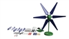 SKY-Z AC & DC Limitless Horizontal Wind Turbine