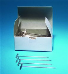 Nickel Plated T-Pins Pack of 100
