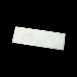 Double Concave Microscope Slides Pk/72