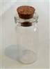 1ml Glass Bottle with Cork Stopper